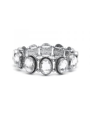 Oval Silver