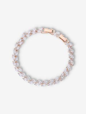 Floral Bracelet | Rose Gold