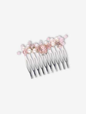 Blush Beads Haircomb