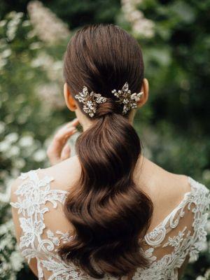 Dawn Hairpin | Antique Gold