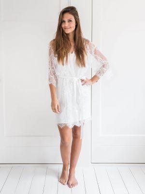 Lace Kimono & Nightdress