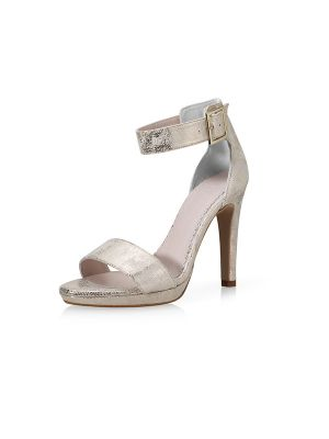 Marysol | Champagne Gold Suede