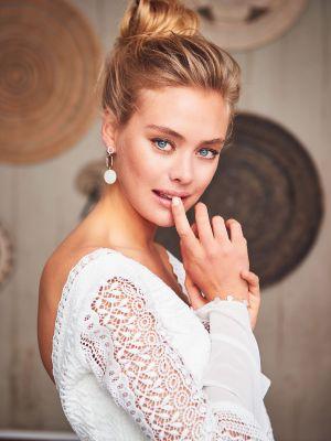 Daria Twin Earrings | Rose Gold
