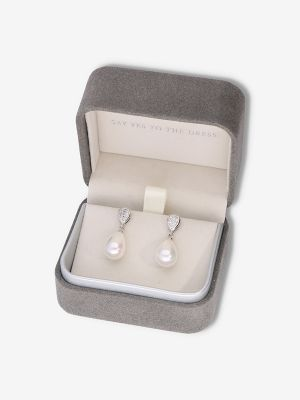 Day Earrings | Rhodium Silver