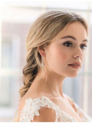 Gaia Earrings   Silver